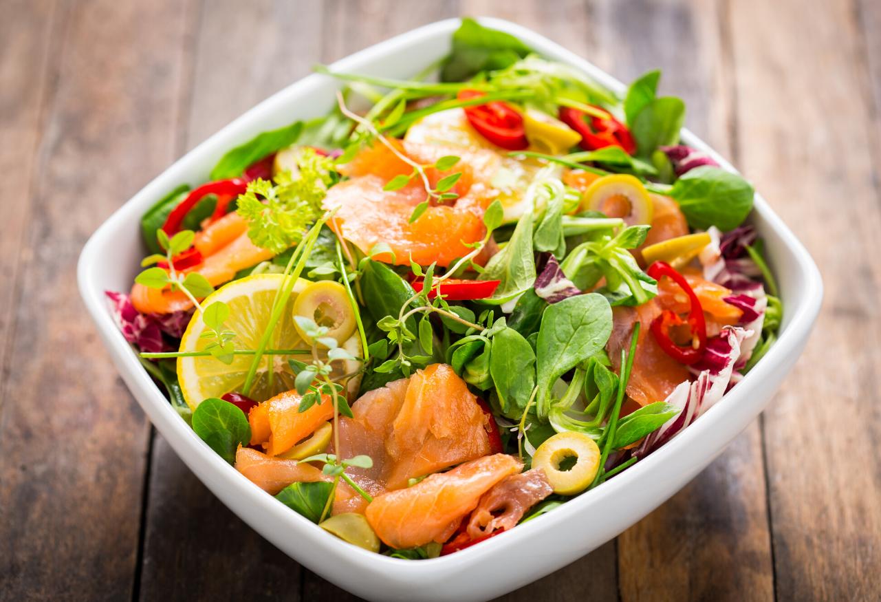 salmon=salad